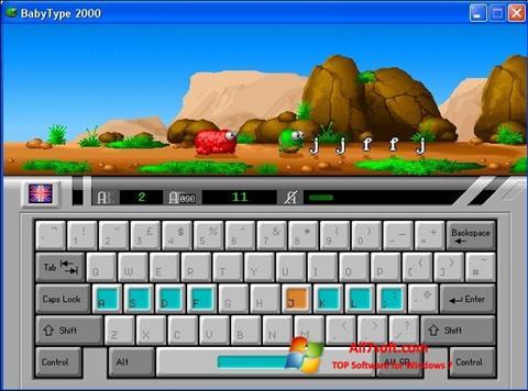 स्क्रीनशॉट BabyType Windows 7