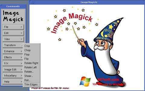 स्क्रीनशॉट ImageMagick Windows 7