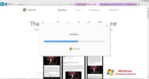 स्क्रीनशॉट Google Chrome Offline Installer Windows 7