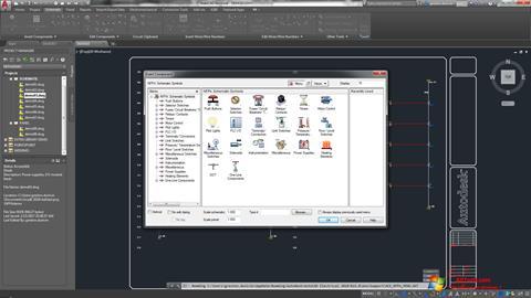 स्क्रीनशॉट AutoCAD Electrical Windows 7