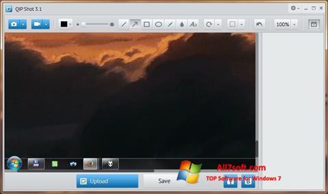 स्क्रीनशॉट QIP Shot Windows 7