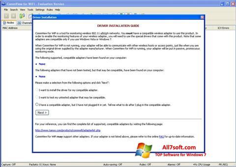 स्क्रीनशॉट CommView for WiFi Windows 7