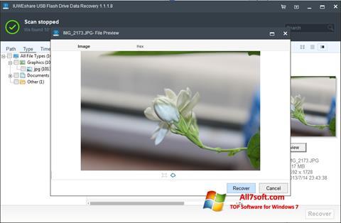 स्क्रीनशॉट USB Flash Drive Recovery Windows 7