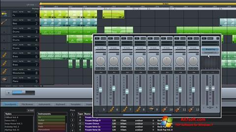 स्क्रीनशॉट MAGIX Music Maker Windows 7