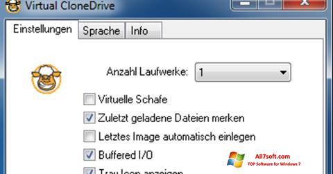 स्क्रीनशॉट Virtual CloneDrive Windows 7