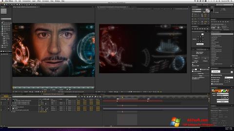 स्क्रीनशॉट Adobe After Effects Windows 7