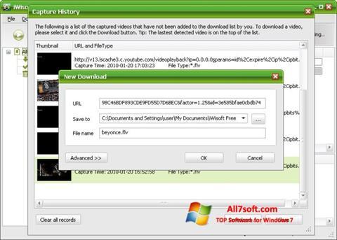 स्क्रीनशॉट Free Video Catcher Windows 7