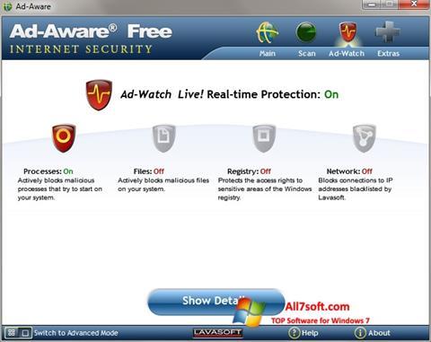 स्क्रीनशॉट Ad-Aware Windows 7
