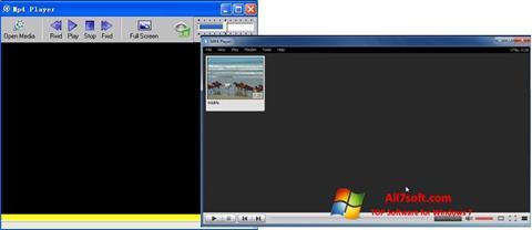 स्क्रीनशॉट MP4 Player Windows 7