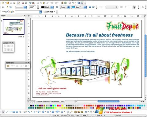 स्क्रीनशॉट Apache OpenOffice Windows 7
