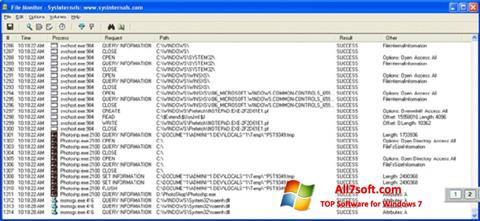 स्क्रीनशॉट FileMon Windows 7