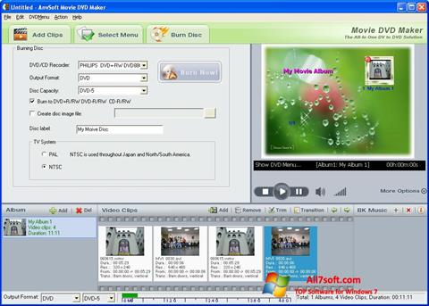 स्क्रीनशॉट DVD Maker Windows 7