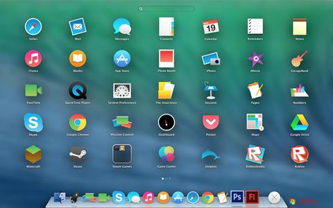 स्क्रीनशॉट OS X Flat IconPack Installer Windows 7
