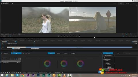 स्क्रीनशॉट Adobe SpeedGrade Windows 7