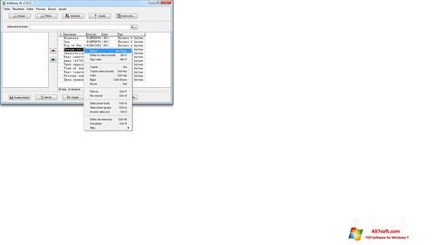 स्क्रीनशॉट ArtMoney Pro Windows 7