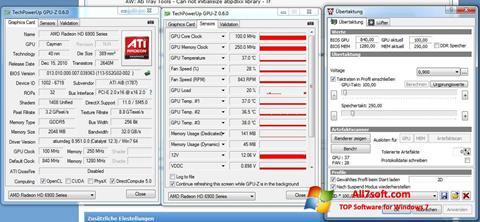 स्क्रीनशॉट ATI Tray Tools Windows 7
