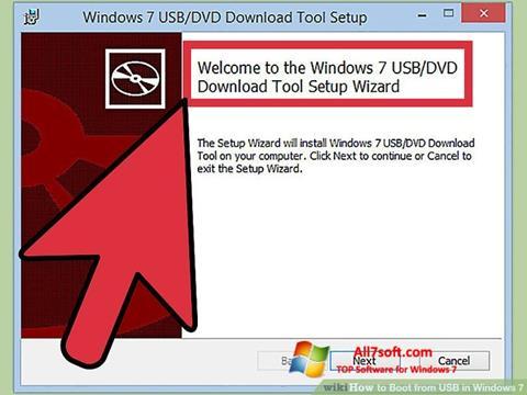 स्क्रीनशॉट Windows 7 USB DVD Download Tool Windows 7