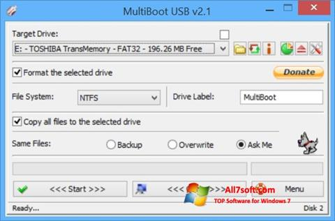 स्क्रीनशॉट Multi Boot USB Windows 7