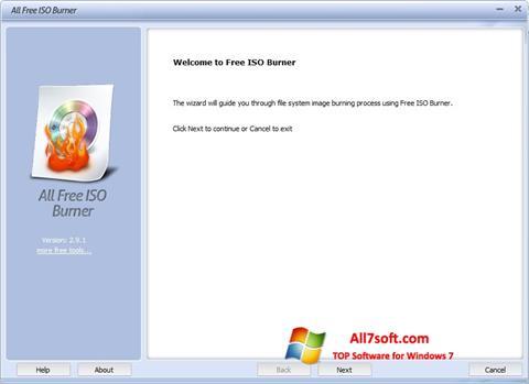 स्क्रीनशॉट ISO Burner Windows 7