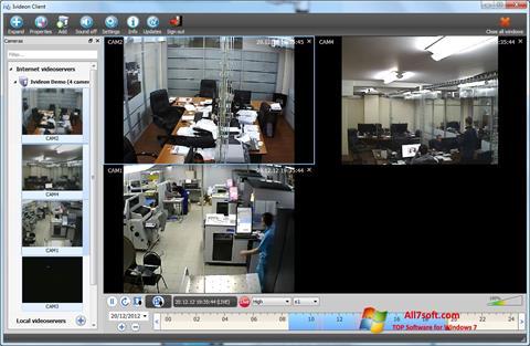 स्क्रीनशॉट Ivideon Server Windows 7