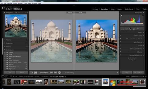 स्क्रीनशॉट Adobe Photoshop Lightroom Windows 7