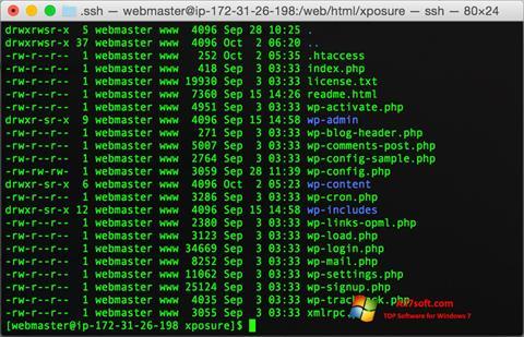 स्क्रीनशॉट Wget Windows 7
