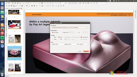 स्क्रीनशॉट Master PDF Editor Windows 7