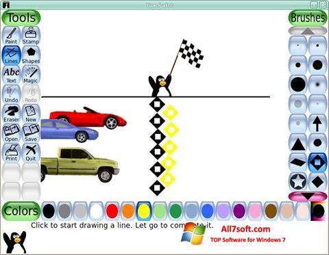 स्क्रीनशॉट Tux Paint Windows 7