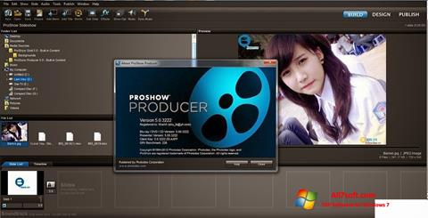 स्क्रीनशॉट ProShow Producer Windows 7
