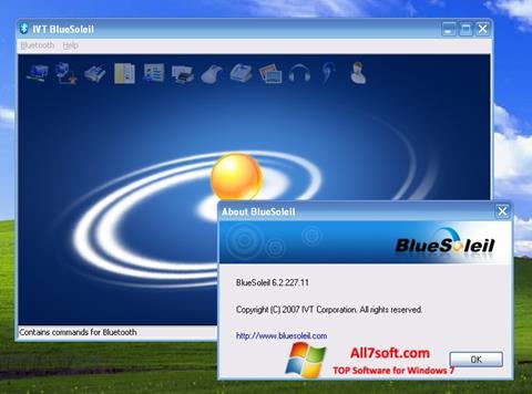 स्क्रीनशॉट BlueSoleil Windows 7