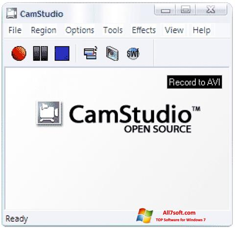 स्क्रीनशॉट CamStudio Windows 7