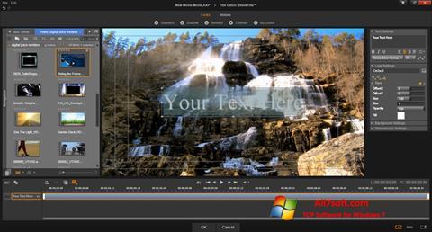 स्क्रीनशॉट Pinnacle Studio Windows 7