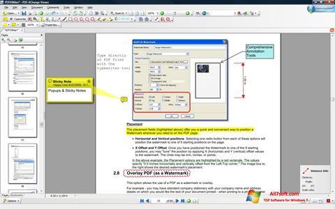 स्क्रीनशॉट PDF-XChange Editor Windows 7
