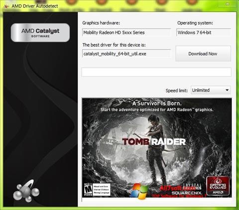 स्क्रीनशॉट AMD Driver Autodetect Windows 7