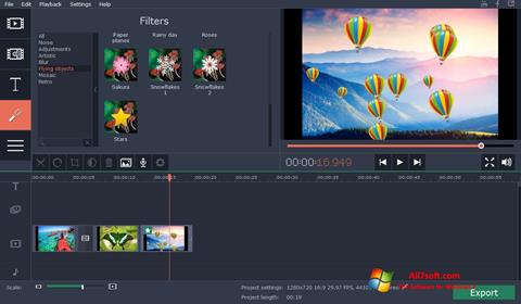 स्क्रीनशॉट Movavi Video Suite Windows 7