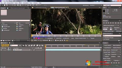 स्क्रीनशॉट Adobe After Effects CC Windows 7