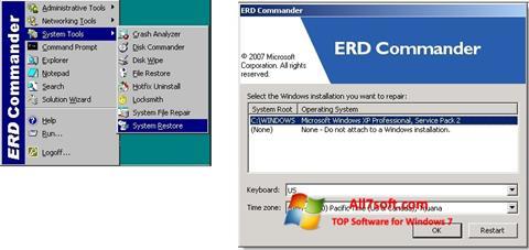 स्क्रीनशॉट ERD Commander Windows 7