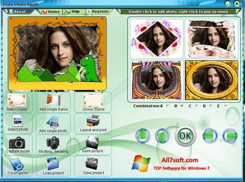 स्क्रीनशॉट Photo Booth Windows 7