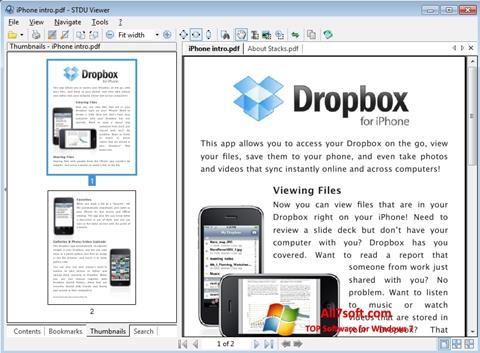 स्क्रीनशॉट STDU Viewer Windows 7