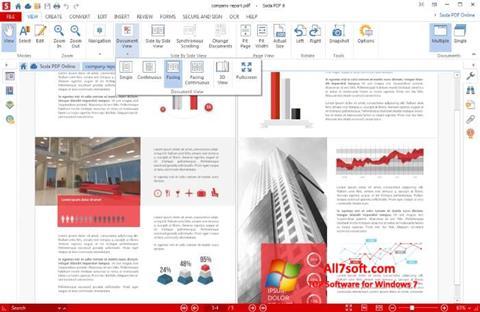 स्क्रीनशॉट Soda PDF Windows 7