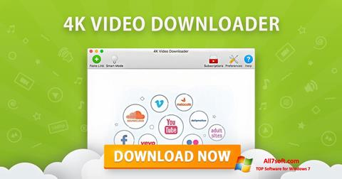 स्क्रीनशॉट 4K Video Downloader Windows 7