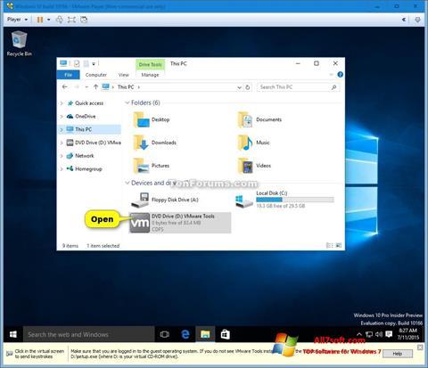 स्क्रीनशॉट Virtual CD Windows 7