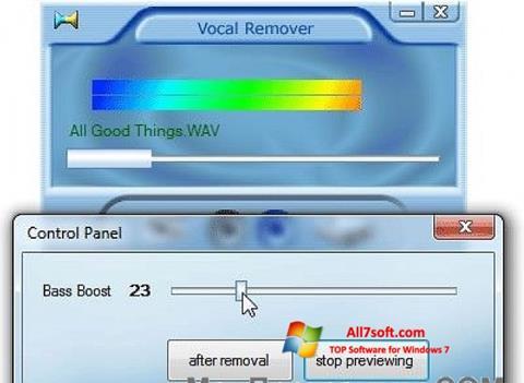 स्क्रीनशॉट Yogen Vocal Remover Windows 7