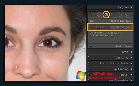 स्क्रीनशॉट Red Eye Remover Windows 7