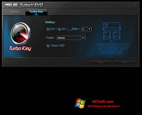 स्क्रीनशॉट TurboV EVO Windows 7