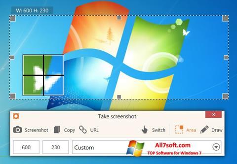स्क्रीनशॉट ScreenShot Windows 7