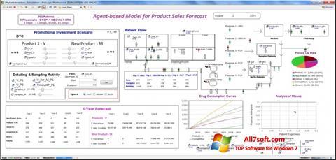 स्क्रीनशॉट AnyLogic Windows 7