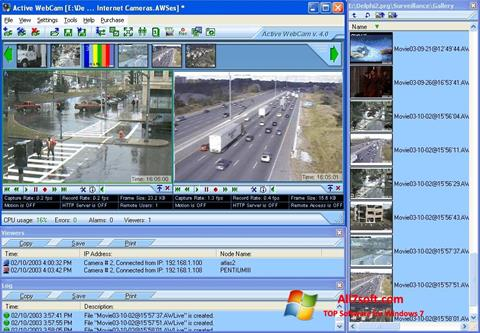 स्क्रीनशॉट Active WebCam Windows 7